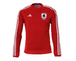 Jersey Warm Up Red Long Sleeve